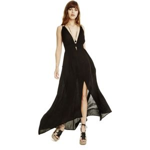 ASTR the Label Belen Maxi Black Dress